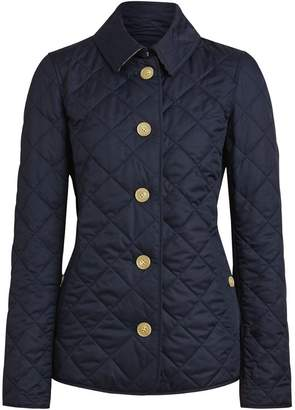 Burberry Quilted Jacket Military Shopstyle