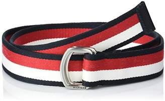 Tommy Hilfiger Men's Corporate Webbing 3.5 Belt,46 (Manufacturer Size: )