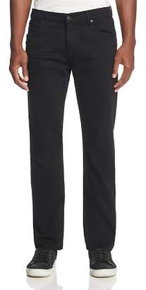 7 For All Mankind Annex Straight Fit Jeans in Black