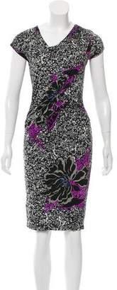 Etro Draped Printed Dress