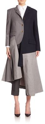 Thom Browne Woolen Jacket & Skirt Dress $5,800 thestylecure.com