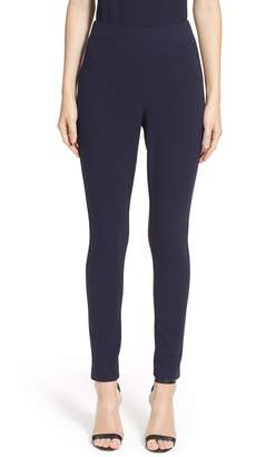 St. John Ponte Knit Crop Leggings