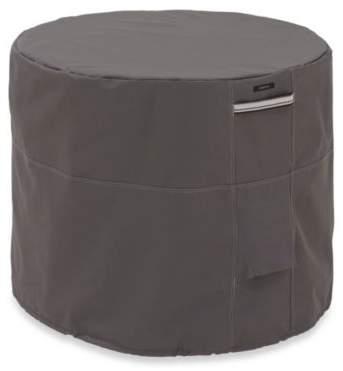 Classic Accessories Ravenna Round Conditioner Cover in Dark Taupe