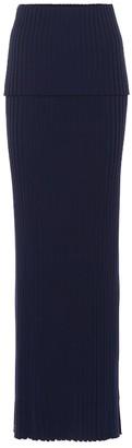 Gabriela Hearst Alamos wool skirt