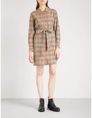 Burberry Brooke cotton shirt dress