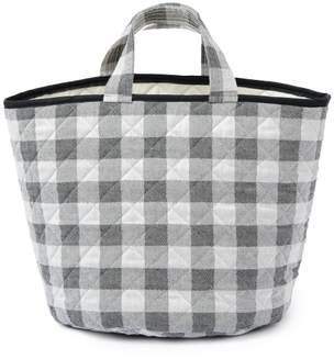 Tori Murphy Woodhouse Check Storage Basket