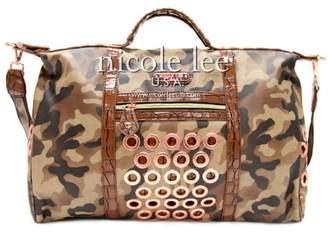 Nicole Lee Teagan Camouflage Print Tote Bag