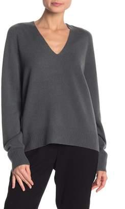 Vince Cashmere Deep V-Neck Sweater