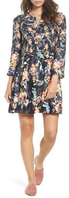 French Connection Delphine Crepe Shift Dress