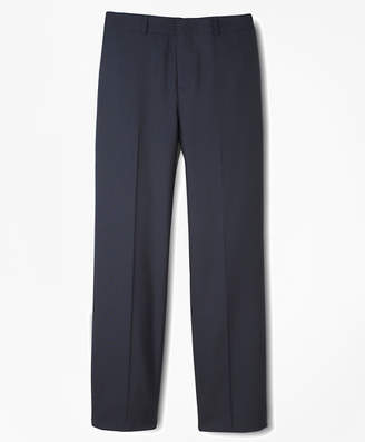 Brooks Brothers Boys BrooksEase Prep Plain-Front Dress Trousers