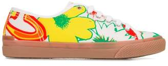 Stella McCartney floral print trainers