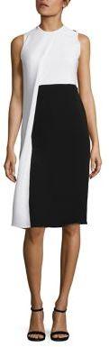 Derek Lam Silk Colorblock Dress $1,495 thestylecure.com