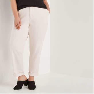 Joe Fresh Women+ Casual Chino Pant, Powder Pink (Size 22)