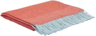 Simple Things Herringbone Wool Throw (180cm x 130cm)