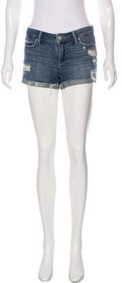 Paige Distressed Denim Shorts