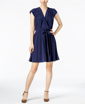 Maison Jules Belted Fit & Flare Dress, Only at Macy's $79.50 thestylecure.com