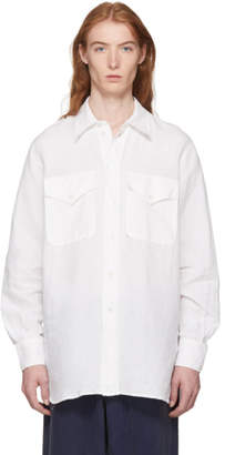 Our Legacy White Xplor Shirt