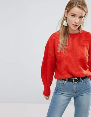 New Look Balloon Sleeve Sweater