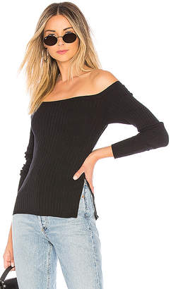 About Us Karlie Side Zipper Sweater