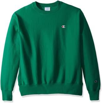 Champion Life Men's Reverse Weave Sweatshirt, C Gold/Left Chest C Logo