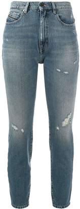 Diesel Black Gold cropped skinny jeans