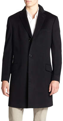 Saks Fifth Avenue Wool & Cashmere-Blend Coat