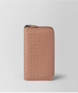 Bottega Veneta Dahlia Intrecciato Nappa Zip-Around Wallet