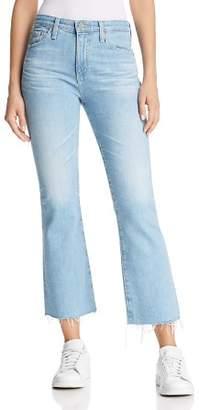 AG Jeans Jodi Crop Flared Jeans in 23 Years Sunbeam