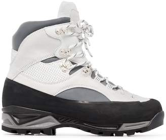 Ganni sarai leather hiking boots