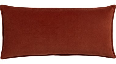 Tempo Rectangular Velvet Pillow