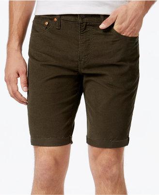Levi's® Men's 511 Cut-Off Corduroy Shorts $50 thestylecure.com
