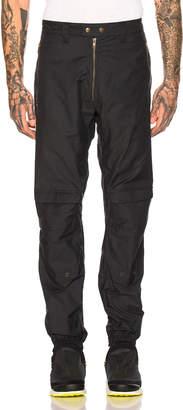 Gmbh GmbH Cargo Exposed Zipper Trousers in Navy | FWRD