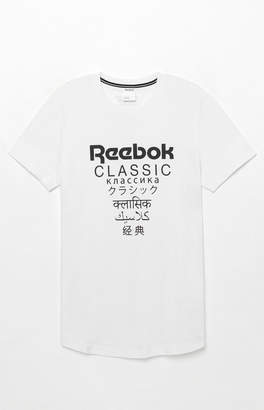Reebok GP Extended Length White T-Shirt