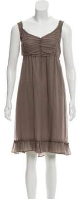 Burberry Silk Empire Dress