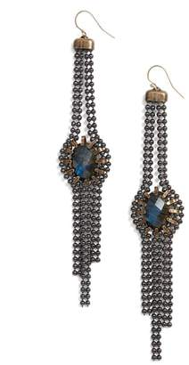 CYNTHIA DESSER Labradorite Drop Earrings