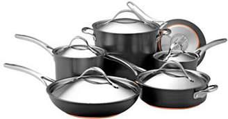 Anolon Nouvelle Copper 11-Piece Hard Anodized Cookware Set