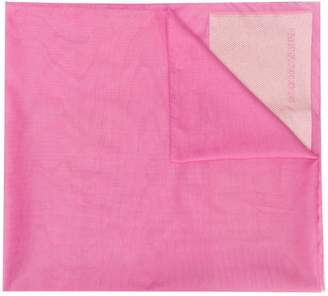 Emporio Armani textured detail scarf