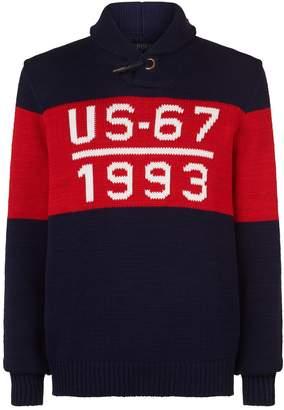 Polo Ralph Lauren US-67 Shawl Neck Sweater