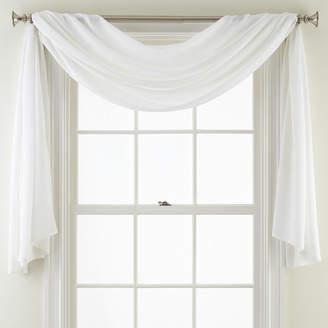 Royal Velvet Ally Window Scarf Valance