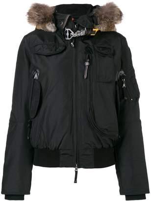 Parajumpers fur trimmed jacket