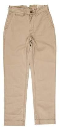 Co RRL & Woven Flat Front Pants