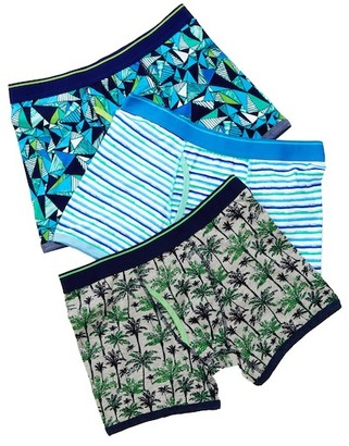 Bottoms Out Palm Brief - Pack of 3 $34 thestylecure.com