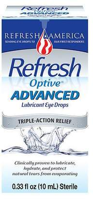 Refresh Optive Advanced Lubricant Eye Drops $16.99 thestylecure.com