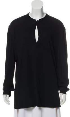 Gianni Versace Crew Neck Long Sleeve Top