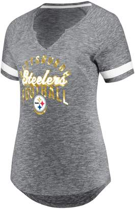 Majestic Plus Size Pittsburgh Steelers Hyper Slub Tee