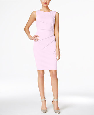 Calvin Klein Starburst Sheath Dress $89.98 thestylecure.com