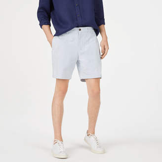 "Club Monaco Baxter Seersucker 7"" Short"