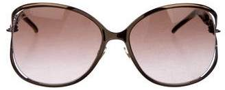 Gucci Strass Chain-Link Sunglasses