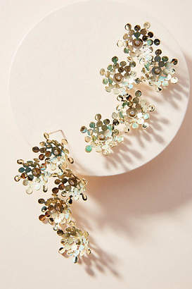 Anthropologie In Full Bloom Drop Earrings