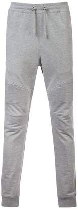 Balmain drawstring waist track pants